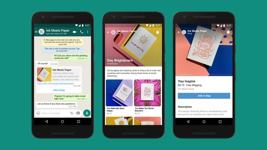 Support Messenger, WhatsApp, or Instagram direct