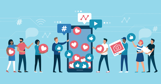 How should I start a social media campaign for my business?