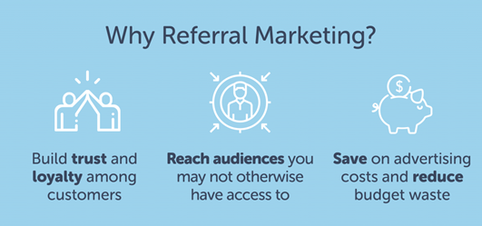 ADVANTAGES OF REFERRAL MARKETING